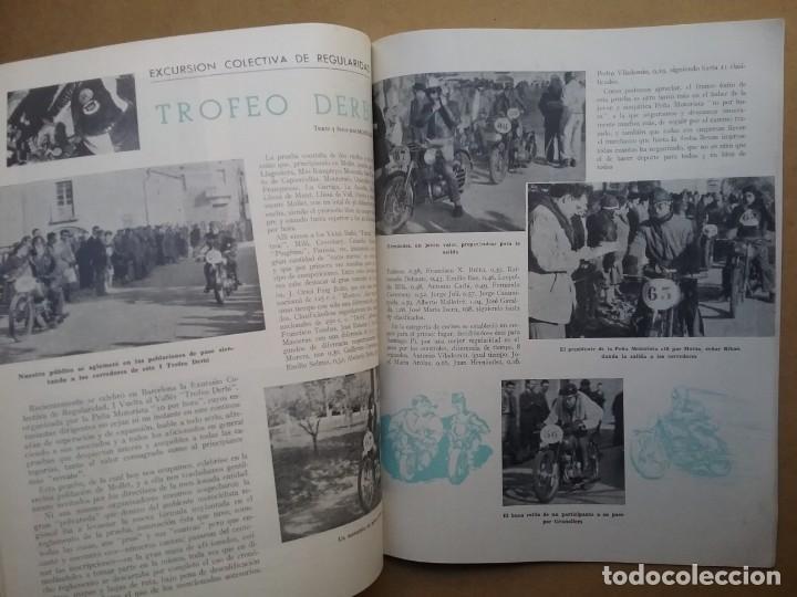 Coches y Motocicletas: MOTO SPORT REVISTA N° 10 1953 MOTOCICLETA MOTOCICLISMO - Foto 4 - 142499530