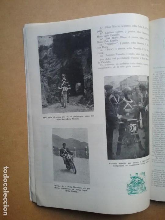 Coches y Motocicletas: MOTO SPORT REVISTA N° 10 1953 MOTOCICLETA MOTOCICLISMO - Foto 6 - 142499530