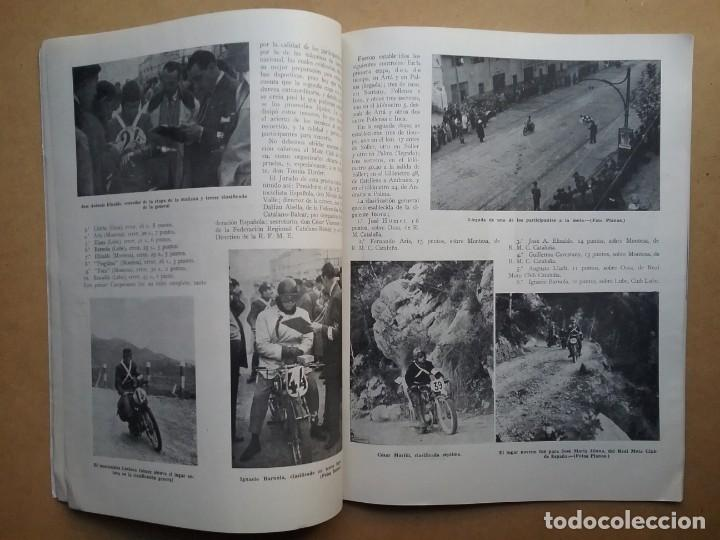 Coches y Motocicletas: MOTO SPORT REVISTA N° 10 1953 MOTOCICLETA MOTOCICLISMO - Foto 7 - 142499530