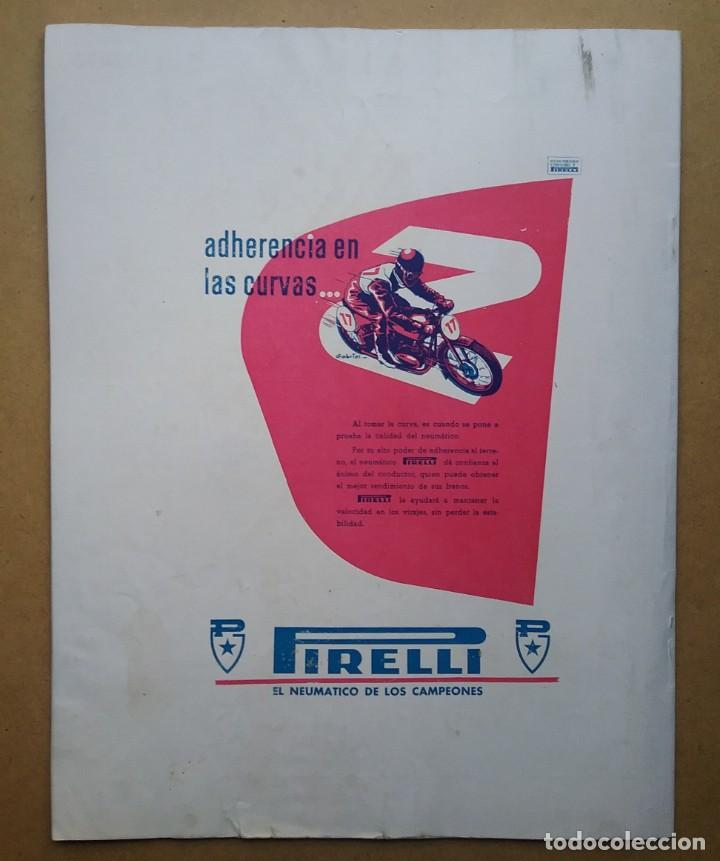Coches y Motocicletas: MOTO SPORT REVISTA N° 10 1953 MOTOCICLETA MOTOCICLISMO - Foto 8 - 142499530