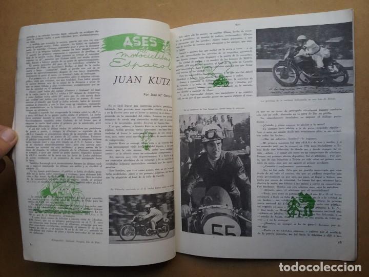 Coches y Motocicletas: MOTO SPORT REVISTA N° 4 1952 MOTOCICLETA MOTOCICLISMO - Foto 4 - 142499938