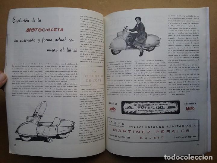Coches y Motocicletas: MOTO SPORT REVISTA N° 4 1952 MOTOCICLETA MOTOCICLISMO - Foto 6 - 142499938