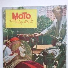 Coches y Motocicletas: MOTO SPORT REVISTA N° 4 1952 MOTOCICLETA MOTOCICLISMO . Lote 142499938