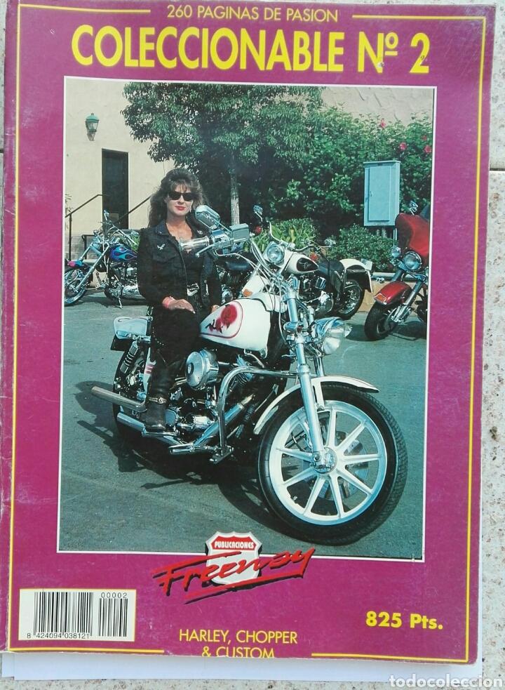 REVISTA FREEWAY COLECCIONABLE N 2 HARLEY CHOPPER AND CUSTOM MAGAZINE (Coches y Motocicletas - Revistas de Motos y Motocicletas)