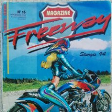 Coches y Motocicletas: REVISTA MAGAZINE FREEWAY 1994 HARLEY CHOPPER AND CUSTOM ÁGUILA DE ACERO. Lote 143105570