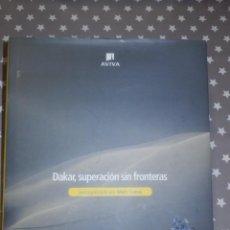 Coches y Motocicletas: LIBRO - DAKAR SUPERACION SIN FRONTERAS DE MARC COMA - FIRMADO Y DEDICADO. Lote 143297526