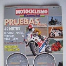 Coches y Motocicletas: REVISTA MOTOCICLISMO ESPECIAL - PRUEBAS 89 / 90 - Nº 1.. Lote 143545990