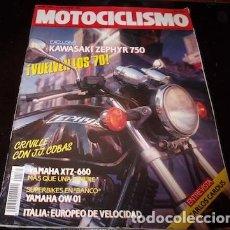 Coches y Motocicletas: REVISTA MOTOCICLISMO Nº 1181, DEL 11 DE OCTUBRE DE 1990. Lote 143828594