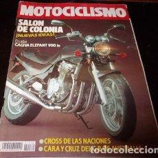 Coches y Motocicletas: REVISTA MOTOCICLISMO Nº 1179, DEL 27 DE SEPTIEMBRE DE 1990. Lote 143828974