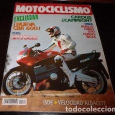 Coches y Motocicletas: REVISTA MOTOCICLISMO Nº 1177, DEL 13 DE SEPTIEMBRE DE 1990. Lote 143829702