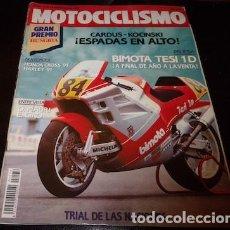 Coches y Motocicletas: REVISTA MOTOCICLISMO Nº 1176, DEL 6 DE SEPTIEMBRE DE 1990. Lote 143829974