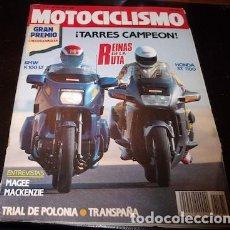 Coches y Motocicletas: REVISTA MOTOCICLISMO Nº 1175, DEL 30 DE AGOSTO DE 1990. Lote 143830110