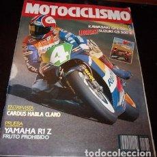 Coches y Motocicletas: REVISTA MOTOCICLISMO Nº 1171, DEL 2 DE AGOSTO DE 1990. Lote 143831338
