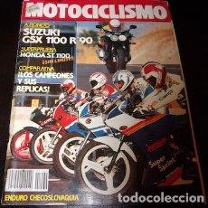 Coches y Motocicletas: REVISTA MOTOCICLISMO Nº 1169, DEL 19 DE JULIO DE 1990. Lote 143831670