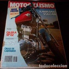 Coches y Motocicletas: REVISTA MOTOCICLISMO Nº 1168, DEL 12 DE JULIO DE 1990. Lote 143831886