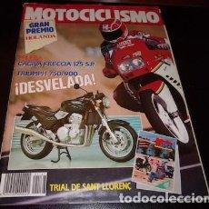 Coches y Motocicletas: REVISTA MOTOCICLISMO Nº 1167 DEL 5 DE JULIO DE 1990. Lote 143832194