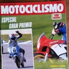 Coches y Motocicletas: REVISTA MOTOCICLISMO Nº 1106. AÑO 1989. 4 MAYO. CCAVENDE. Lote 143866998