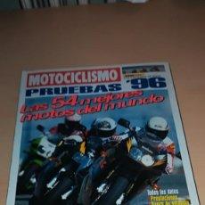 Coches y Motocicletas: REVISTA MOTOCICLISMO ESPECIAL PRUEBAS 1996 EDICIÓN FUERA DE SERIE. Lote 143919018
