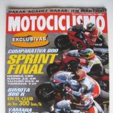 Coches y Motocicletas: REVISTA MOTOCICLISMO - Nº 1.504 - 17 AL 23 DE DICIEMBRE DE 1996.. Lote 144120742