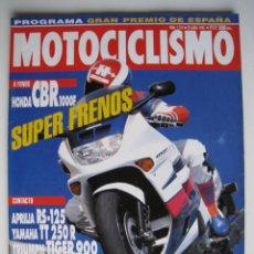Coches y Motocicletas: REVISTA MOTOCICLISMO - Nº 1.314 - 29 DE ABRIL DE 1993.. Lote 144123786