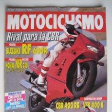 Coches y Motocicletas: REVISTA MOTOCICLISMO - Nº 1.294 - 10 DE DICIEMBRE DE 1992.. Lote 144125374