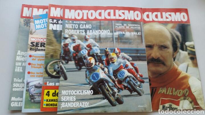 Coches y Motocicletas: Lote 5 revistas motociclismo 1981 1982 - Foto 2 - 144598362