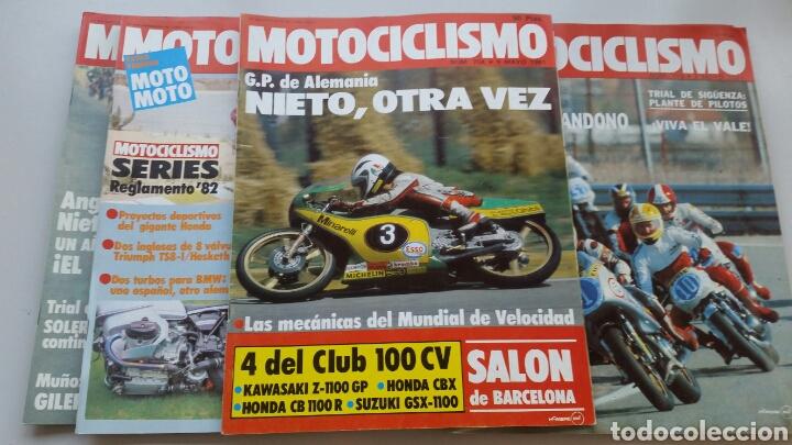 Coches y Motocicletas: Lote 5 revistas motociclismo 1981 1982 - Foto 3 - 144598362
