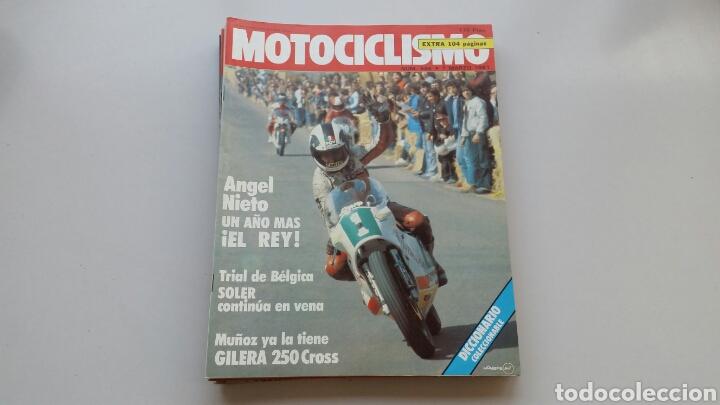 Coches y Motocicletas: Lote 5 revistas motociclismo 1981 1982 - Foto 5 - 144598362