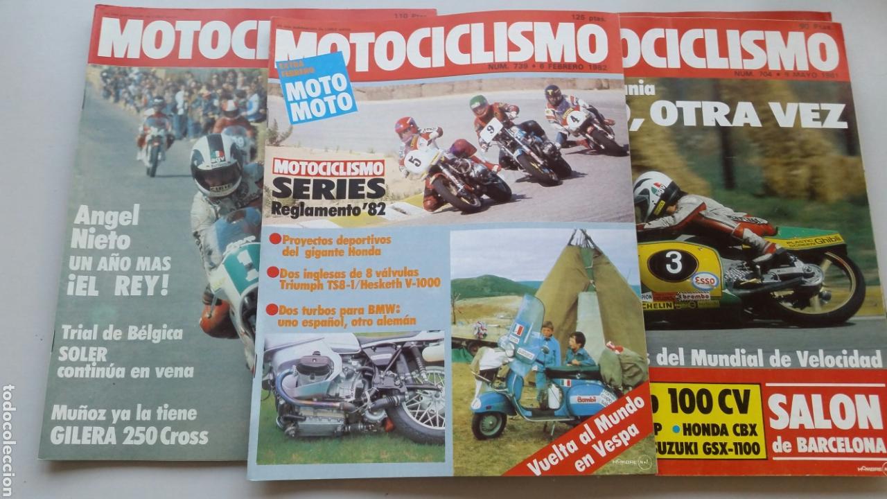 Coches y Motocicletas: Lote 5 revistas motociclismo 1981 1982 - Foto 4 - 144598362