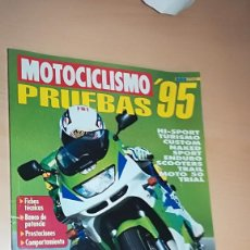 Coches y Motocicletas: REVISTA MOTOCICLISMO ESPECIAL PRUEBAS Nº 6 1995. Lote 144854650
