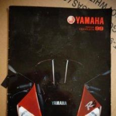 Coches y Motocicletas: CATALOGO YAMAHA TODA GAMA MOTOS 1999 . Lote 145231374