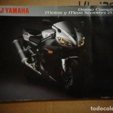 Coches y Motocicletas: CATALOGO ORIGINAL YAMAHA MOTOS Y MAXISCOOTERS GAMA COMPLETA 2002 . Lote 145416182