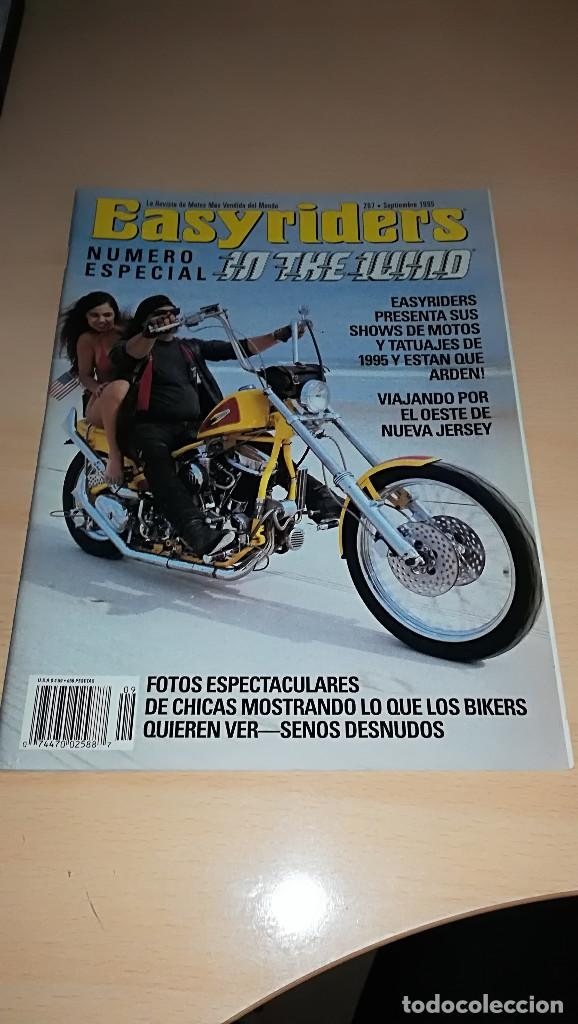 REVISTA EASYRIDERS 267 SEPTIEMBRE 1995 (Coches y Motocicletas - Revistas de Motos y Motocicletas)