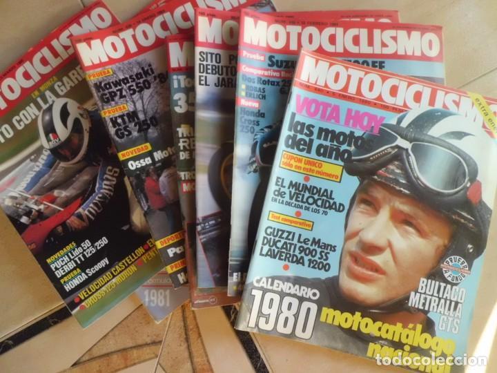 21 REVISTAS MOTOCICLISMO AÑOS 80 (Coches y Motocicletas - Revistas de Motos y Motocicletas)