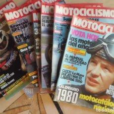 Coches y Motocicletas: 21 REVISTAS MOTOCICLISMO AÑOS 80. Lote 146587990