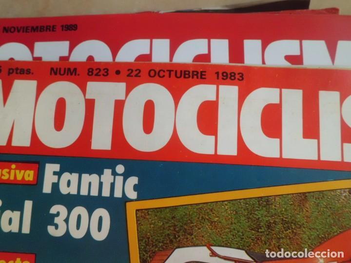 Coches y Motocicletas: 21 REVISTAS MOTOCICLISMO AÑOS 80 - Foto 3 - 146587990