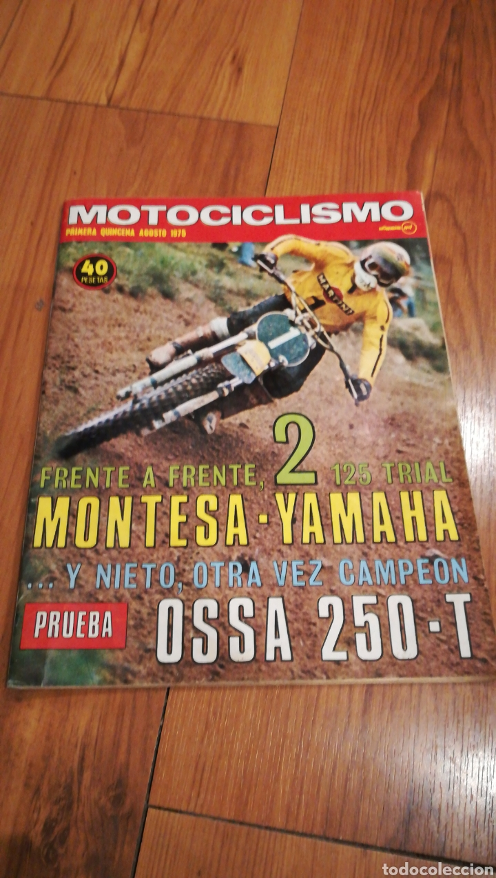 MOTOCICLISMO MONTESA YAMAHA OSA (Coches y Motocicletas - Revistas de Motos y Motocicletas)