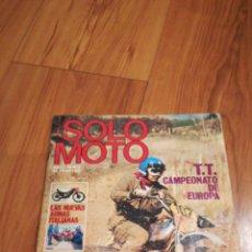 Coches y Motocicletas: SOLO MOTO N2. Lote 146791236