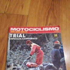 Coches y Motocicletas: MOTOCICLISMO FEBRERO DEL 75. Lote 146791889