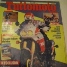 Coches y Motocicletas: TUTTOMOTO NUMERO 3 - MARZO 1989. Lote 146925326