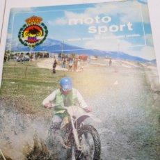 Coches y Motocicletas: REVISTA MOTO SPORT DE LA FEDERACIÓN MOTOCICLISTA ESPAÑOLA NÚMERO 62. Lote 147087666