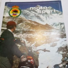 Coches y Motocicletas: REVISTA MOTO SPORT DE LA FEDERACIÓN MOTOCICLISTA ESPAÑOLA Nº 70. Lote 147087896