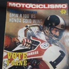 Coches y Motocicletas: REVISTA MOTOCICLISMO 489 1976 BMW R 100 RS HONDA GOLD WING KAWASAKI 1000 MONTESA 250 ENDURO AMERICA. Lote 147464478