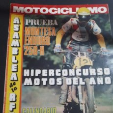 Coches y Motocicletas: REVISTA MOTOCICLISMO Nº 487 DE 1976 MONTESA 250-H ENDURO. Lote 147464814