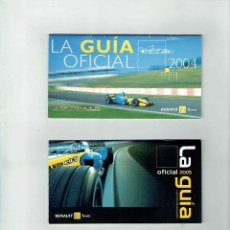 Coches y Motocicletas: LA GUÍA OFICIAL DE LA FÓRMULA 1 AÑO 2004 Y 2005 (RENAULT F1 TEAM). Lote 147676970