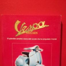 Coches y Motocicletas: LIBRO POSTALES VESPA. Lote 148106566