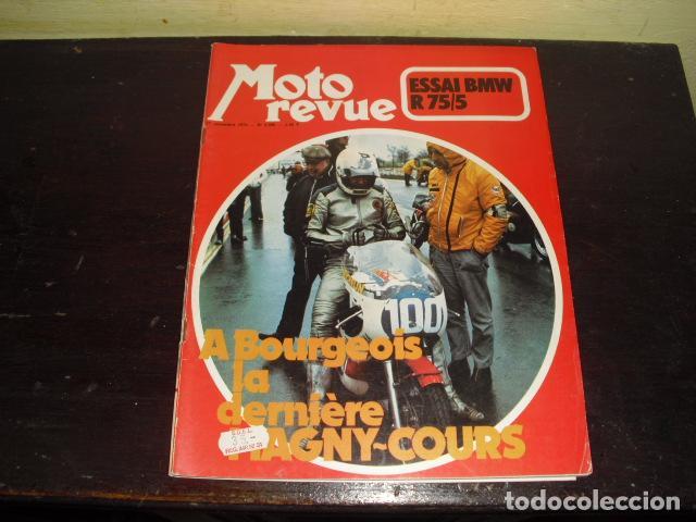 MOTO REVUE Nº 2099 - AÑO 1972 - PRUEBA BMW R75/5 - BENELLI 750 6 CILINDROS. (Coches y Motocicletas - Revistas de Motos y Motocicletas)