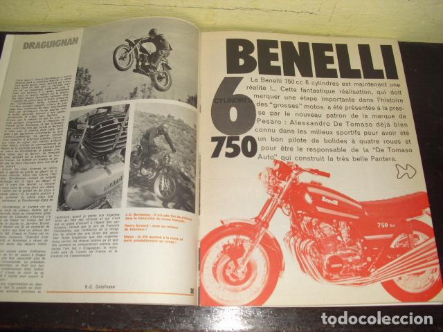 Coches y Motocicletas: MOTO REVUE Nº 2099 - AÑO 1972 - PRUEBA BMW R75/5 - BENELLI 750 6 CILINDROS. - Foto 3 - 148678498