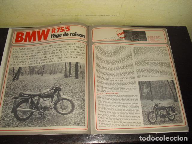 Coches y Motocicletas: MOTO REVUE Nº 2099 - AÑO 1972 - PRUEBA BMW R75/5 - BENELLI 750 6 CILINDROS. - Foto 5 - 148678498