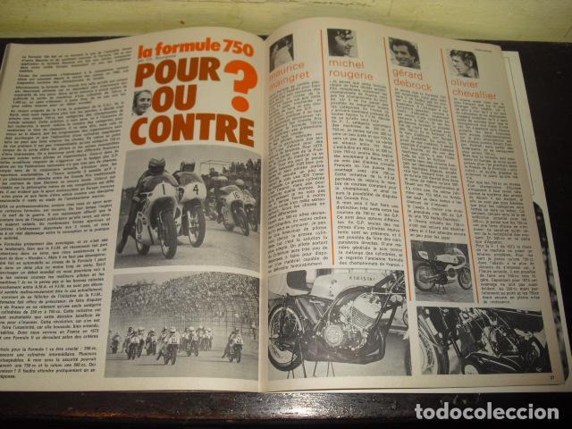 Coches y Motocicletas: MOTO REVUE Nº 2099 - AÑO 1972 - PRUEBA BMW R75/5 - BENELLI 750 6 CILINDROS. - Foto 8 - 148678498